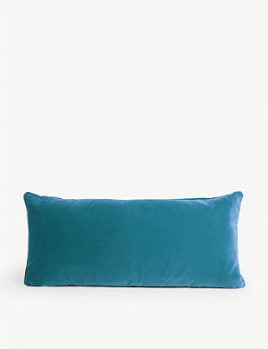 SOHO HOME Monroe oblong velvet cushion