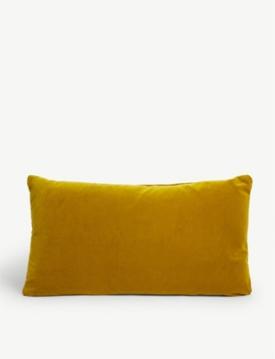 SOHO HOME Monroe velvet cushion 27cm x 60cm