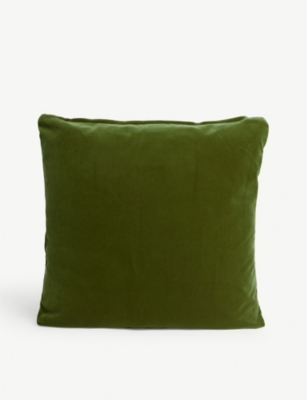 SOHO HOME Monroe velvet cushion 44cm x 44cm