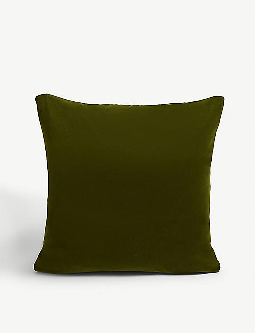 SOHO HOME Monroe large velvet square cushion 50cm