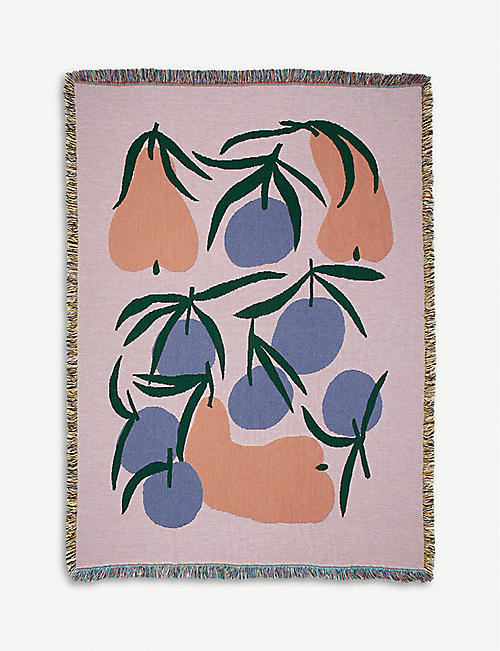 SLOW DOWN STUDIO Dupree cotton throw 137x178cm