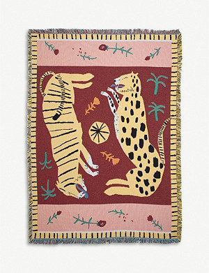 SLOW DOWN STUDIO July cotton throw 137x178cm