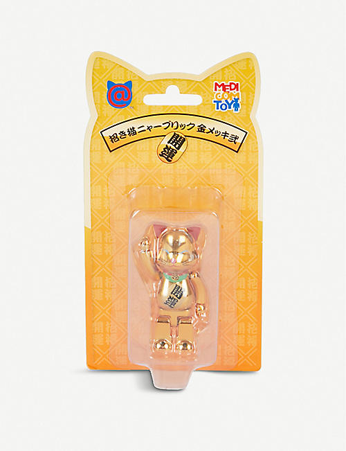 BE@RBRICK Manekineko lucky cat 100% figure