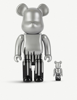 BE@RBRICK Krink 100% & 400% figures set of two