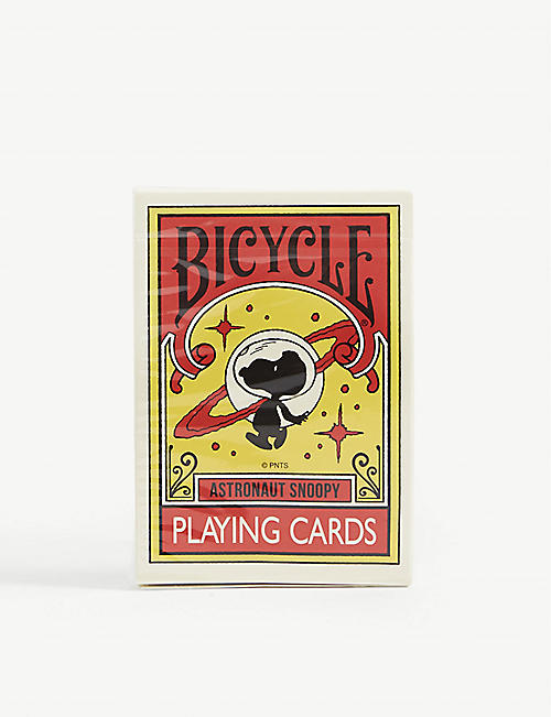 MEDICOM Astronaut Snoopy playing cards