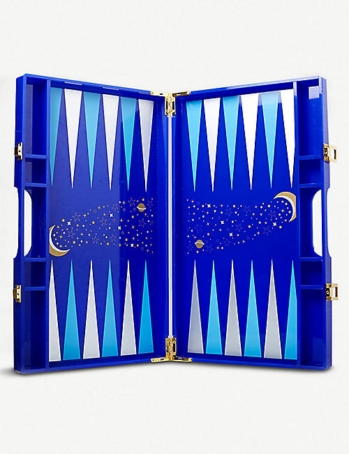 CASACARTA Luna lacquered backgammon set