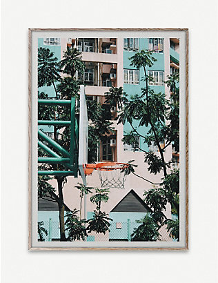 PAPER COLLECTIVE: Kasper Nyman Cities of Basketball 01 print 50 x 70cm