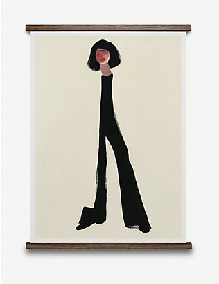 PAPER COLLECTIVE: Amelie Hegardt Black Pants poster 30x40cm
