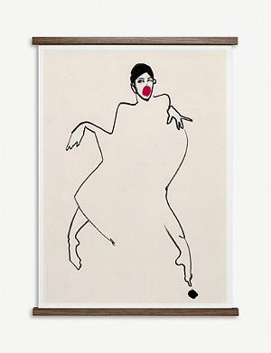 PAPER COLLECTIVE Amelie Hegardt Dancer 02 poster 50x70cm