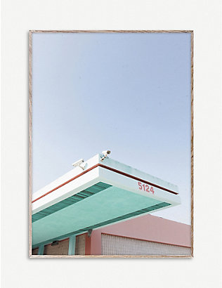 PAPER COLLECTIVE: Mikal Str?m Los Angeles Is Pink 01 print 50 x 70cm