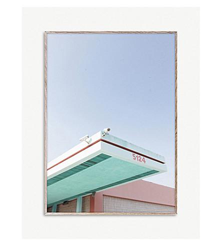 Mikal Strøm Los Angeles Is Pink 01 print 50 x 70cm