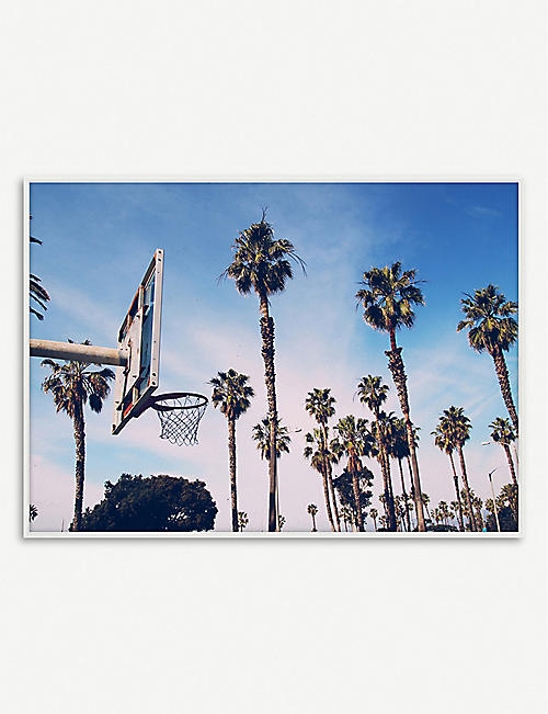 PAPER COLLECTIVE: Kasper Nyman Cities of Basketball 02 print 30 x 40cm