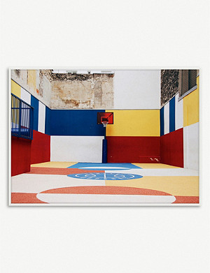 PAPER COLLECTIVE Paper Collective x Kasper Nyman - Cities of Basketball 03 (Paris) print – 30x40cm