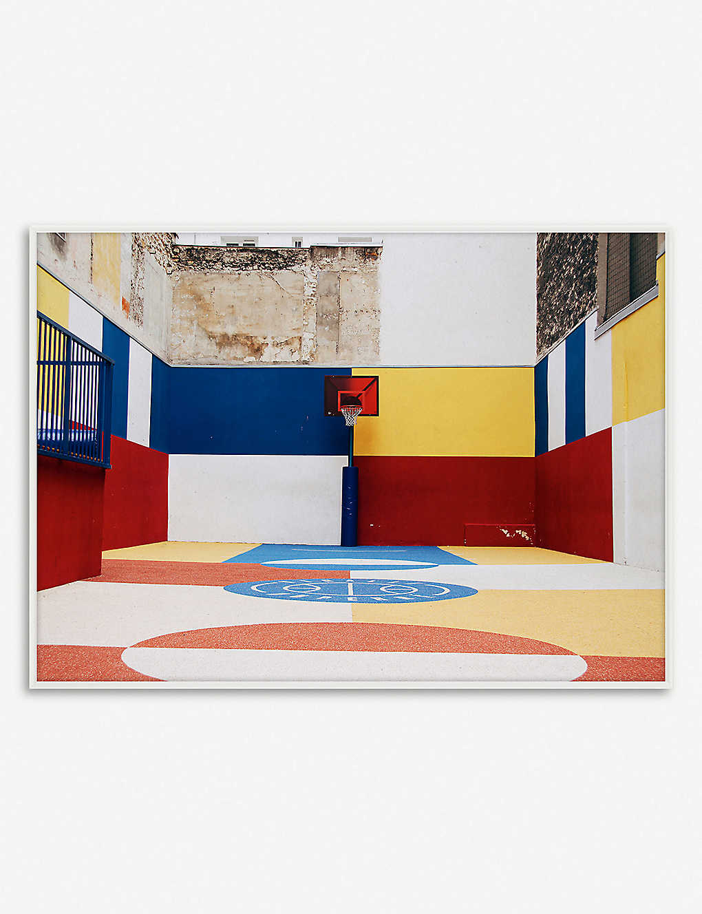 PAPER COLLECTIVE: Paper Collective x Kasper Nyman - Cities of Basketball 03 (Paris) print – 30x40cm