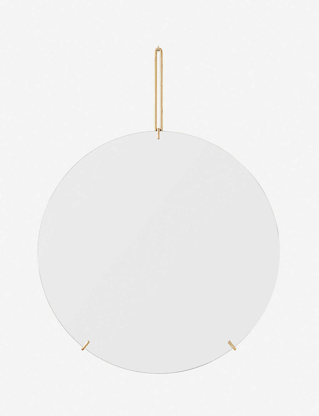 MOEBE: Round wall mirror 50cm