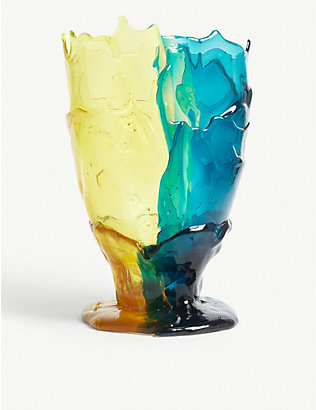 CORSI DESIGN: Twins resin vase 19cm