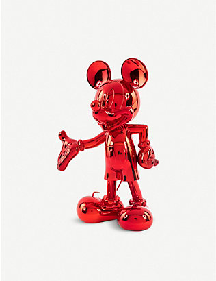 LEBLON DELIENNE: Mickey Mouse metallic mirror finish figurine 30cm