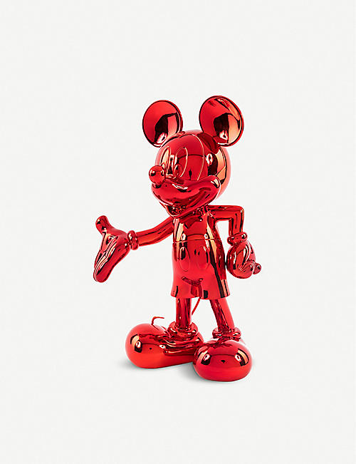 LEBLON DELIENNE Mickey Mouse metallic mirror finish figurine 30cm