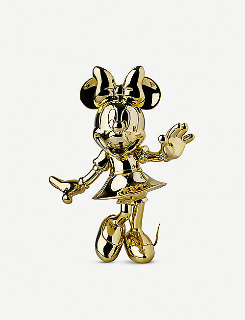 LEBLON DELIENNE Minnie Mouse Welcome chrome figurine 30cm