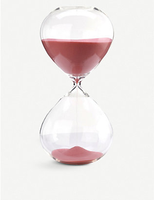 POLS POTTEN: Medium hourglass with coloured sand 30cm