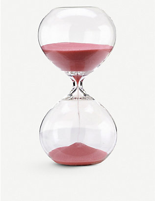 POLS POTTEN: Small hourglass with coloured sand 20cm