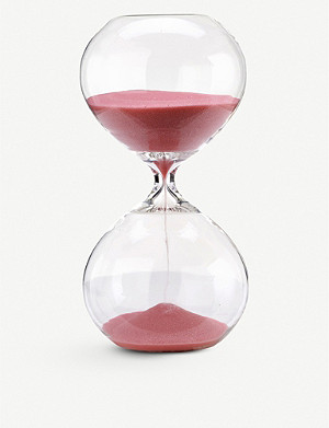 POLS POTTEN Small hourglass with coloured sand 20cm