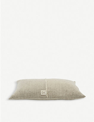 TEIXIDORS: Sisteron ecological merino-wool cushion 50x30cm