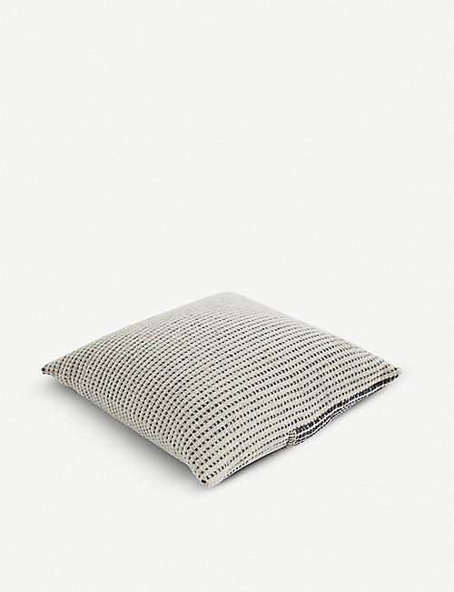 TEIXIDORS: Time ecological wool-blend cushion 60x60cm