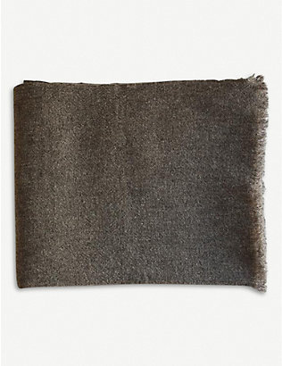 TEIXIDORS: Gobi merino wool-yak blend throw 140x180cm