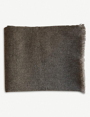 TEIXIDORS Gobi merino wool-yak blend throw 140x180cm