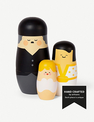 SPRING COPENHAGEN Expressions Entertainers nesting dolls set of three