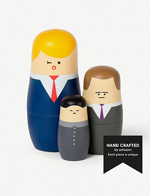 SPRING COPENHAGEN Expressions nesting dolls set of three