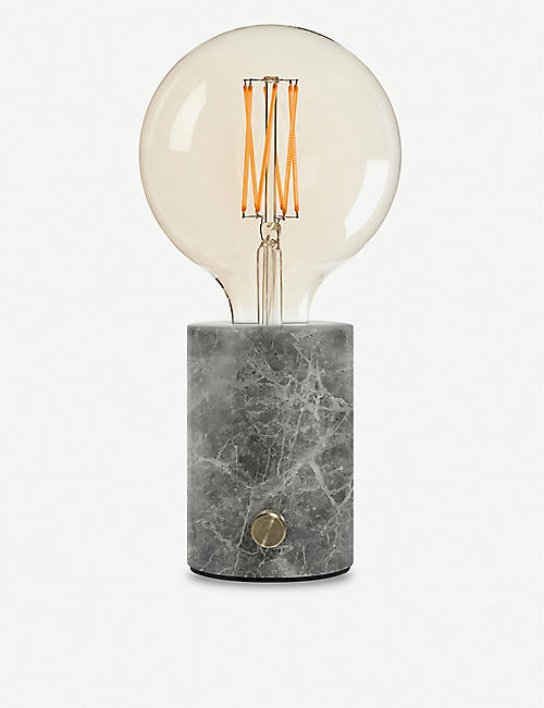 EDGAR LIGHTING Orbis marble lamp 25.5cm x 12.5cm