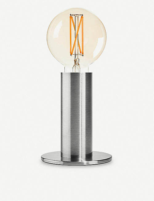 EDGAR LIGHTING Sol brushed anodised steel lamp