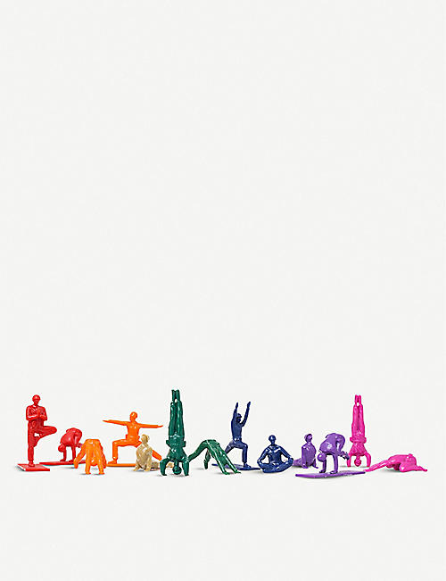 YOGA JOES Series 1 rainbow figures
