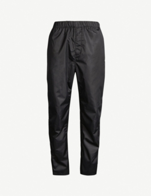 GIVENCHY Side-stripe popper-fastening shell jogging bottoms