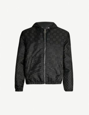 GIVENCHY Logo-print shell hooded jacket