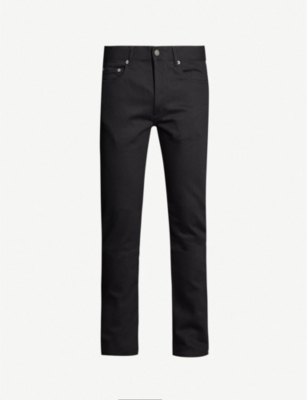 GIVENCHY Side-stripe slim-fit straight jeans
