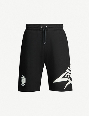 GIVENCHY Glow in the dark cotton-jersey shorts