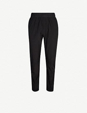 GIVENCHY Relaxed-fit shell jogging bottoms