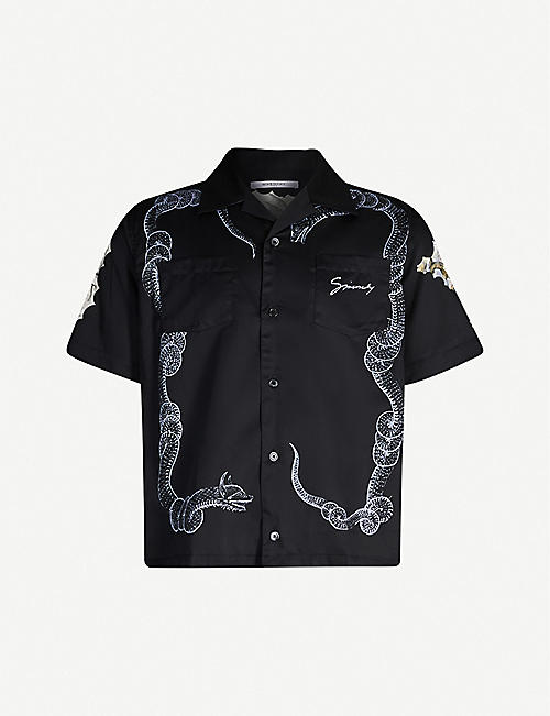 72a9cc72 Givenchy Men's - T-shirts, backpacks, shirts & more | Selfridges