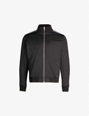 GIVENCHY Side-stripe shell track jacket