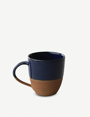 NKUKU Mali two-tone large terracotta mug
