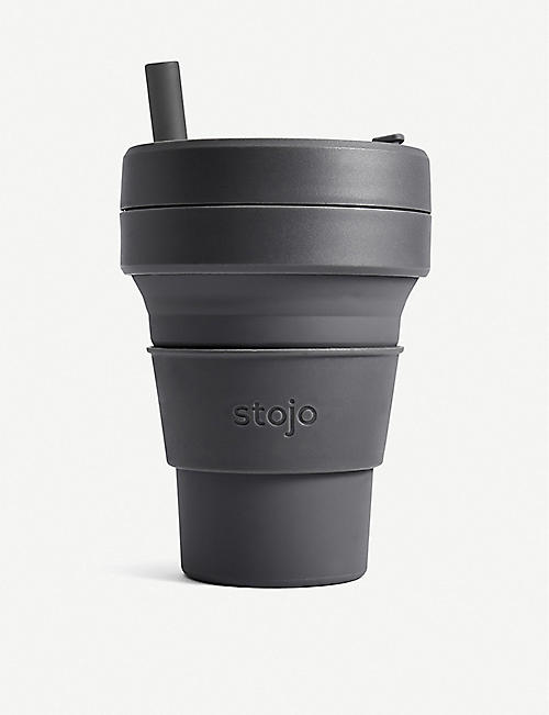 STOJO Biggie Brooklyn collapsible travel mug 473ml