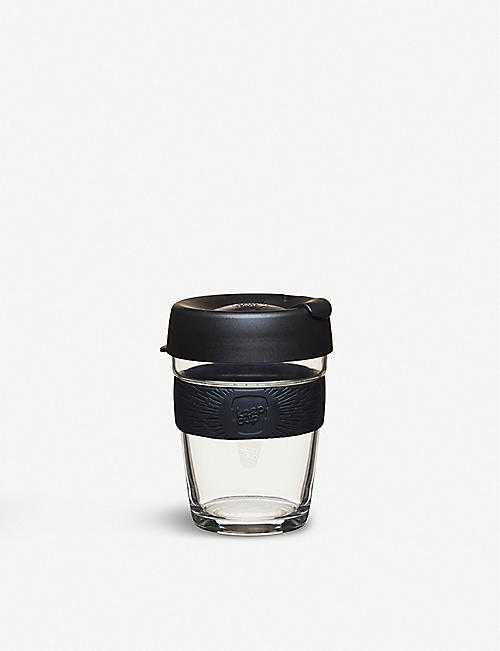 KEEPCUP: Reusable glass coffee cup medium 340ml