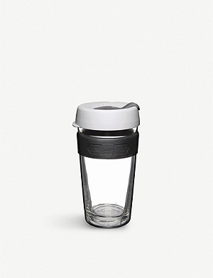 KEEPCUP LongPlay Rosetta glass coffee cup 454ml