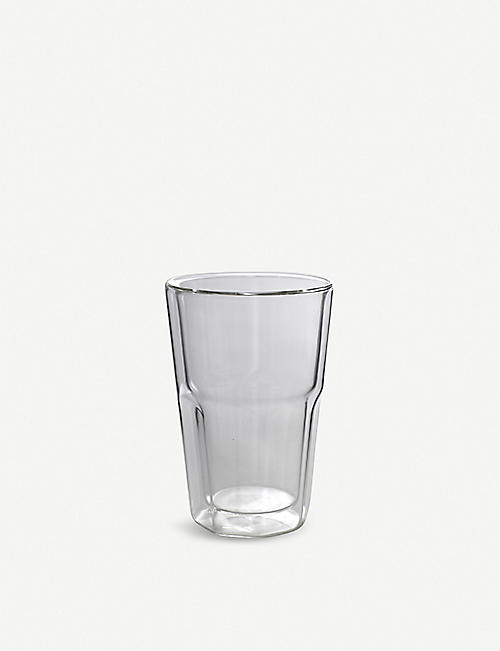 SERAX Double-walled cappuccino glass 300ml