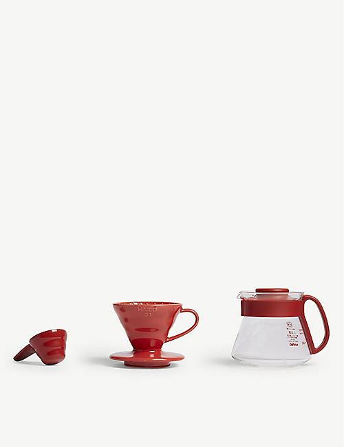 HARIO V60 dripper and pot set