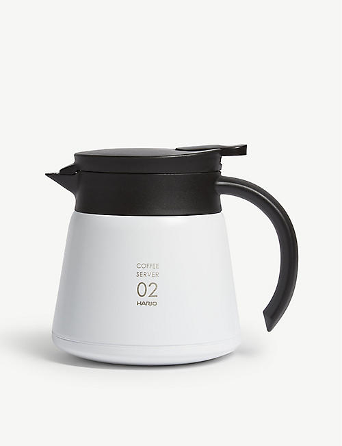 HARIO: V60 insulated stainless steel server