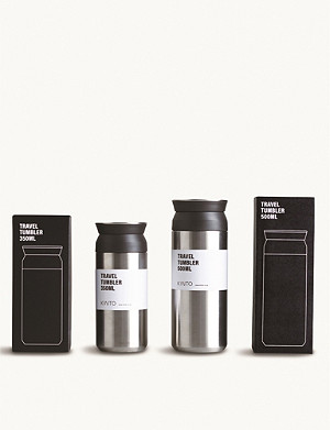 KINTO Travel stainless steel travel tumbler 350ml